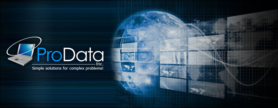 ProData Inc. - Simple Solutions For Complex Problems